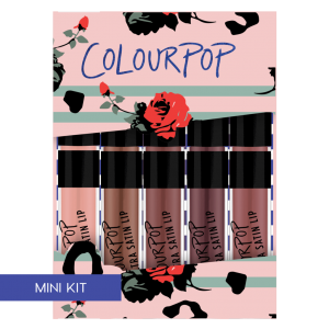 COLOURPOP ON A WHIM SET OF SATIN LIPSTICKS MINI SIZE