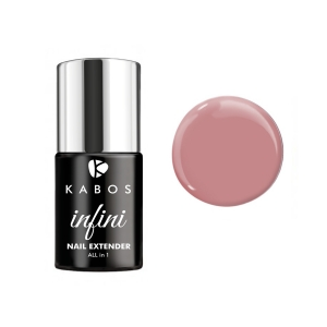 KABOS INFINI HYBRID ALL IN 1 NAIL EXTENDER COVER PINK 8ML
