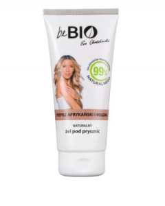 BE BIO COSMETIQS BY EWA CHODAKOWSKA SHOWER GEL AFRICAN PEPPER & ALMOND 200ml