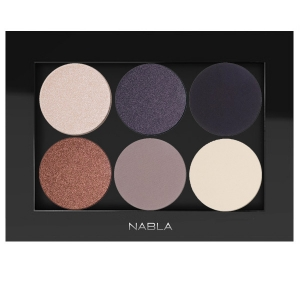 NABLA SET 0F 6 EYE SHADOW WITH PALETTE FOR BLUE BROWN