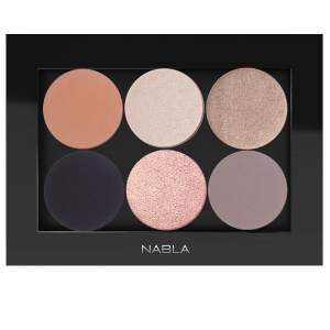 NABLA SET 0F 6 EYE SHADOW WITH PALETTE FOR BLUE EYES (NEUTRAL TONES)