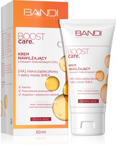 BANDI BOOST CARE MOISTURIZING CREAM WITH PURE HYALURONIC ACID (HA) 50ml