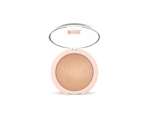 GOLDEN ROSE SHEER BAKED FACE POWDER-NUDE LOOK