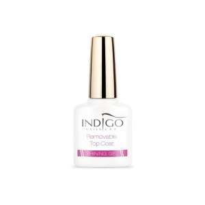 INDIGO REMOVABLE TOP COAT SHINING GEL