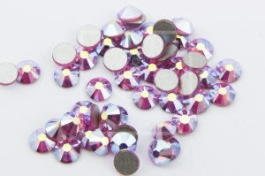 JULIA NESSA NAIL DECORATION CRYSTAL ZIRCONS 50PCS ROSE AB SIZE 5