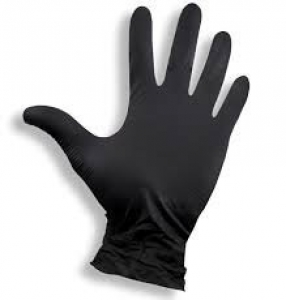 ABA GROUP NITRILE GLOVES THICKNESS BLACK