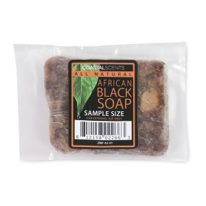 COASTAL SCENTS AFRICAN BLACK SOAP SAMPLE