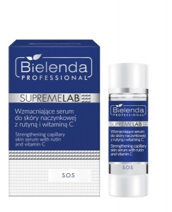 BIELENDA SUPREMELAB S.O.S. DISHES SERUM WITH ROUTINE AND VITAMIN C 15ML