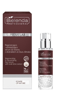 BIELENDA SUPREMELAB POWER OF NATURE REGENERATING AND REJUVENATING FACE SERUM WITH SLIMA SLUME EXTRACT 30G