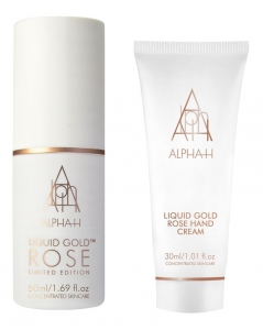 ALPHA-H LIQUID GOL ROSE TRAVEL SET