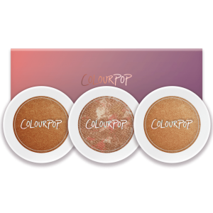 COLOURPOP SHORTCAKE  HIGHLIGHTER TRIO DEEP