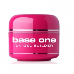 SILCARE BASE ONE COVER UV GEL BUILDER CLEAR COVER 30g
