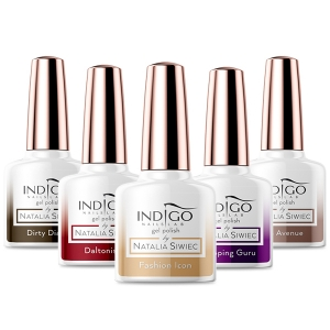 INDIGO GEL POLISH HYBRID BY NATALIA SIWIEC NEW YORK COLLECTION