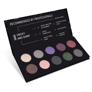 AFFECT SMOKY AND SHINY EYESHADOW PALETTE