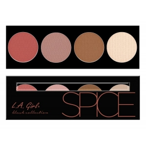 LA GIRL COSMETICS BEAUTY BRICK BLUSH SPICE