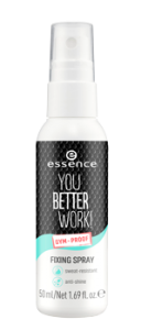 ESSENCE YOU BETTER WORK! FIXING SPRAY
