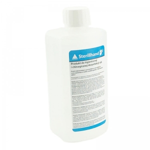 STERILLHAND PRODUCT FOR HYGIENE AND SURGICAL DISINFECTION OF BAKTERIO-VIRUS HANDS NAILS 1LSTERILLHAND PRODUCT FOR HYGIENE AND SURGICAL DISINFECTION OF BAKTERIO-VIRUS HANDS NAILS 1L 1000ml