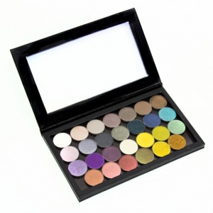 MAKEUP GEEK SUPER SHIMMER BLACK PALETTE