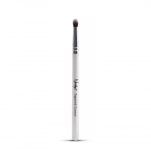 NANSHY EYE MAKEUP BRUSH TAPERED CREASE WHITE