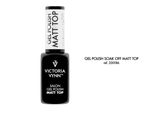 VICTORIA VYNN GEL POLISH SOAK OFF MATT TOP 8ml