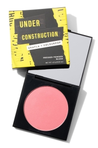 COLOURPOP & SHAYLA PRESSED POWDER BLUSH UNDER CONSTRUCTION